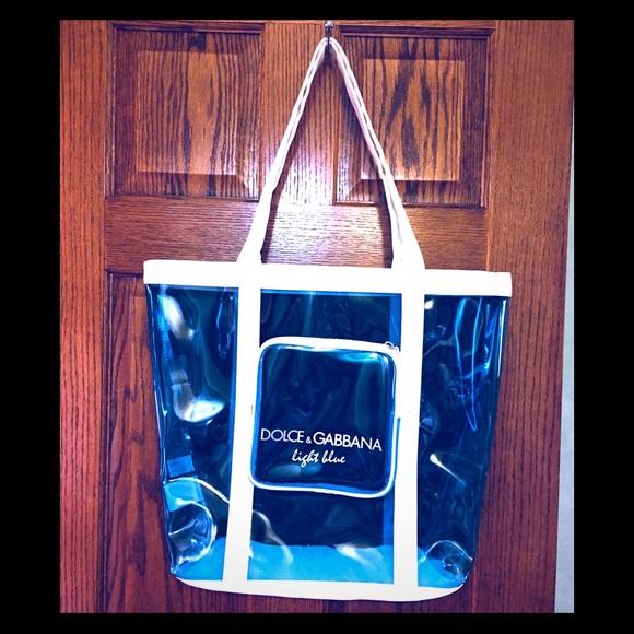 Dolce   Gabbana Bags   Canvas And Pvc Dolce And Gabanna Tote   Poshmark ca0cf7e5dd